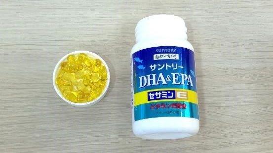 SUNTORY-DHA&EPA芝麻明E 心得